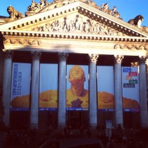 La façade de la Bourse