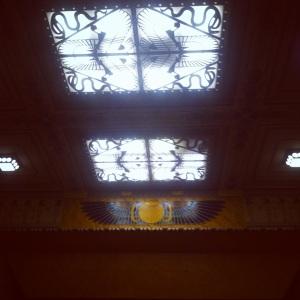 Le plafond du Louxor