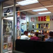 La queue chez le coiffeur :)