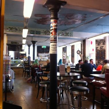 Le café de Afflecks
