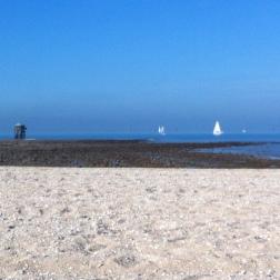 La plage des Minimes