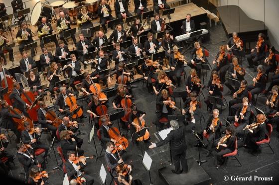 L'Orchestre symphonique Région Centre. Crédits photo : Gérard Proust