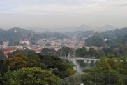 Kandy, vue sur le lac
