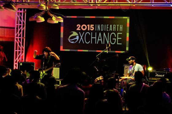 Showcase du duo indien Fuzzculture, originaire de New Delhi. Crédits : Earthsync