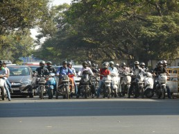 Le fameux trafic of Bangalore