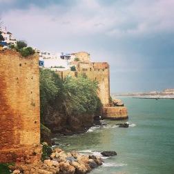 Vue sur la Kasbah des Oudayas