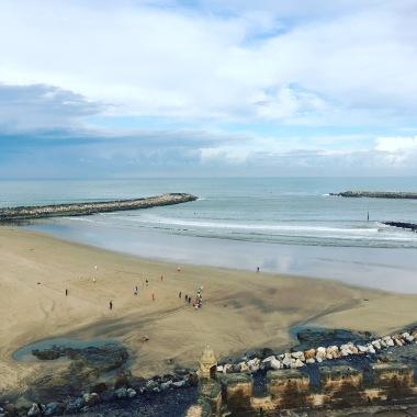 La plage de Rabat