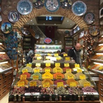 Le marché des épices